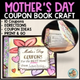 Mother's Day Crafts Ideas Coupon Book Print and Go