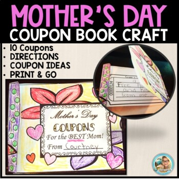 Mother's Day Coupon Book Print and Go