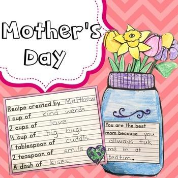 Mother S Day Craft By The Pawsitive Teacher Teachers Pay Teachers