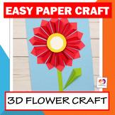 Flower Craft - Spring Craft - Mother's Day Craft