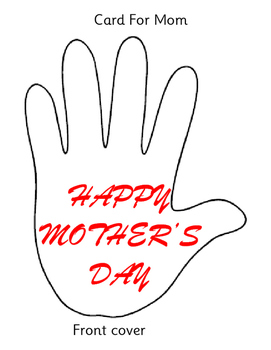 Mother's Day Craft Activity