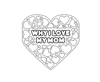 Mother's Day Craft Card (both US (mom) and UK (mum) spelling options included)