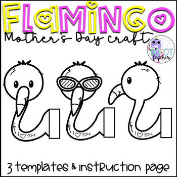 Mother's Day Craft (Flamingo)