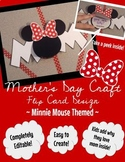 Mother's Day Craft (Flip Card Design) - Minnie Mouse Inspi