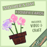 Mother's Day Craft: Flower Card Template!