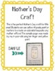 Mother's Day Craft: Freebie
