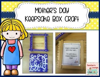 Mother's Day Craft: Keepsake Box