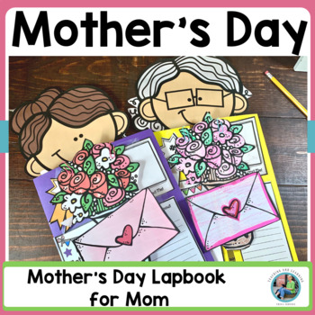Mother's Day Craft {Lap Book All About Mom}