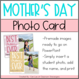 Mother's Day Craft | Mothers Day Picture Card | Digital Design