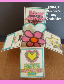 Mother's Day Craft - POP-UP Box Card
