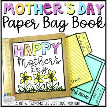 Mother's Day Craft: Paper Bag Book