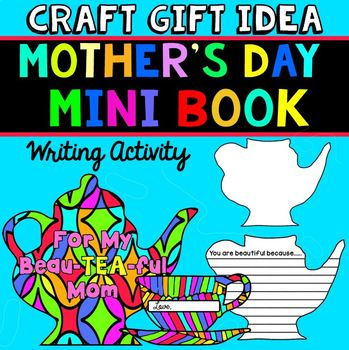 Mother's Day Craft: Writing Activity Mini Book