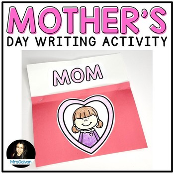Mother S Day Craft Writing Activity Mothers Day Gift For Mom English