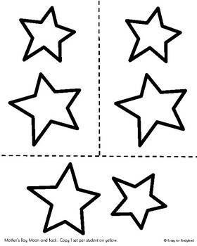 Mothers Day Craft And Poem For Kindergarten I Love You To The Moon And Back