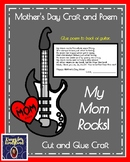 Mother's Day Craft and Poem for Kindergarten: My Mom Rocks (Guitar)