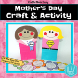Mother's Day Bag Craft and Writing Activity