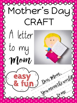 Mother's Day Craft easy & fun VIDEO