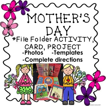Mother's Day Craftivity Activity Project Printables Worksheets