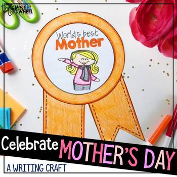 Mother's Day Craftivity - a no prep May writing activity