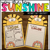 Mother's Day Craft - Mother's Day Craftivity - You Are My Sunshine