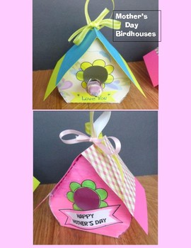 Mother's Day Crafts - Birdhouses