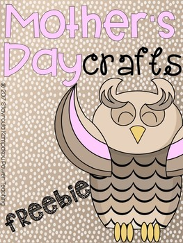 Mother's Day Crafts Freebie