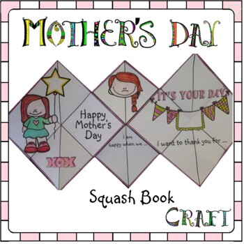 Mother's Day Crafts - Squash Book