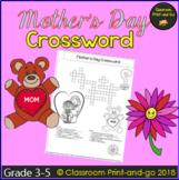 Mother's Day Crossword Worksheet