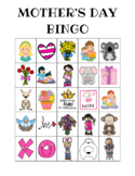 Mother's Day Custom Bingo Printables (Color and BW)