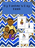 Father's Day Cut and Paste Book-Adapted for Special Education