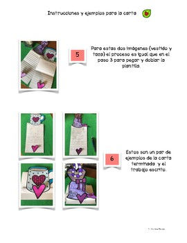 """Mother's Day """"Día de las Madres"""" Writing Pack & Craftivity"""