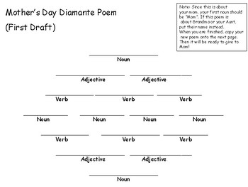 Mother's Day Poetry NO PREP