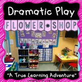 Flower Shop Dramatic Play for Spring and Summer - Literacy