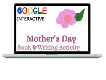 Mother's Day E-Book - Digital Card & Writing Activity!