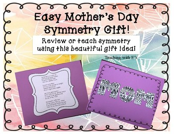Mother's Day Easy Symmetry Gift