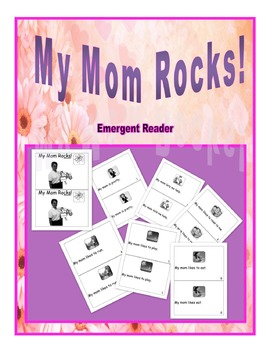 "Mother's Day Emergent Reader-""My Mom Rocks!"""