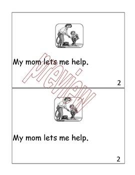 "Mother's Day Emergent Reader-""My Mom Rocks!"""