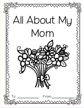 Mother's Day Emergent Reader and Writing