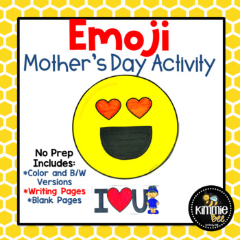 Mother's Day Emoji Writing Activity