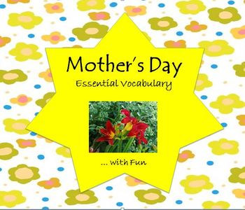Mother's Day Essential Vocabulary Through Fun Activities