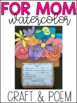 Mother's Day Craft and Poem FREE
