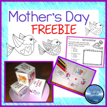 Mother's Day FREE: Mother's Day Craft and Mother's Day Rea
