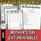 Mother's Day & Father's Day Printable Gifts BUNDLE