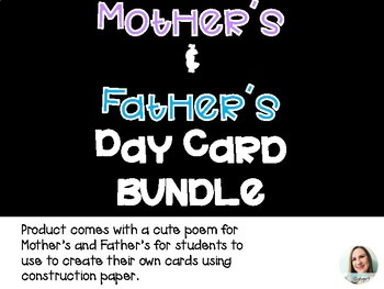 Mother's Day + Father's Day Card Quote + Coupon Writing