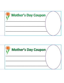 Mother's Day-Father's Day Coupons: Creativity for Students