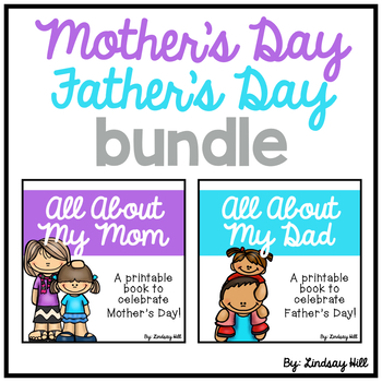 Mother S Day Father S Day Printable Book Bundle By Lindsay Hill