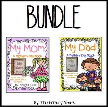 Mother's Day & Father's Day Gift Books {BUNDLE}