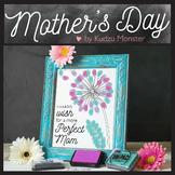 Mother's Day Finger Paint Art Activity