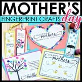 Mother's Day Gift Fingerprint Craft Print and Go!