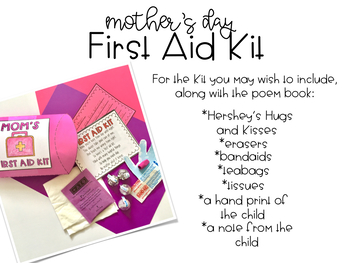 Mother's Day First Aid/Tool Kit